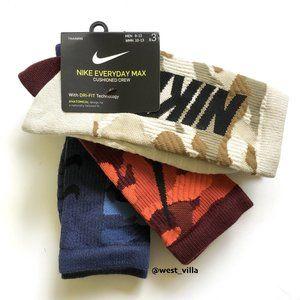 Nike Everyday Max Cushioned Crew Socks - 3 Pairs
